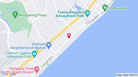 Royal Palace Inn & Suites Map