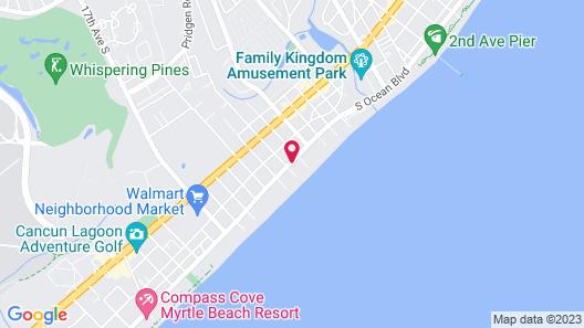 Ocean Plaza Motel Map