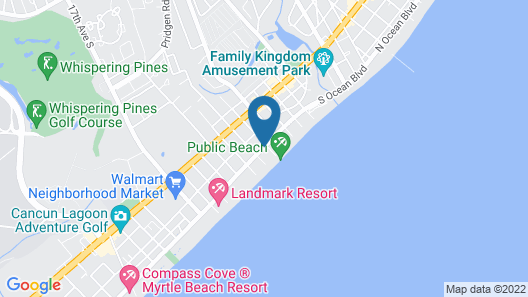 Polynesian Beach & Golf Resort Map