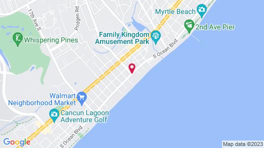 Days Inn by Wyndham Myrtle Beach-Grand Strand Map
