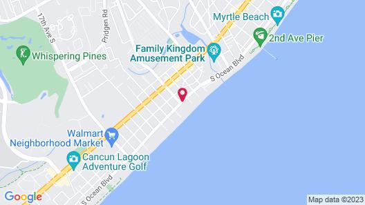 Ocean Inn Map