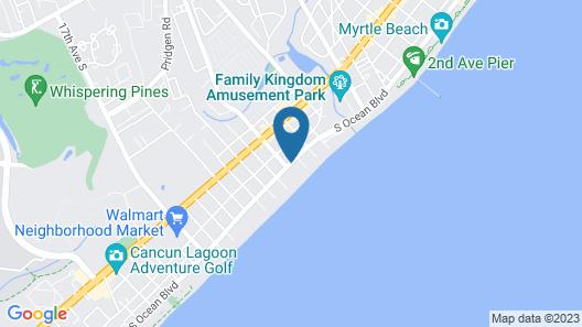 Sea Crest Oceanfront Resort Map