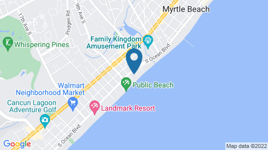 Palette Resort Myrtle Beach by OYO Map