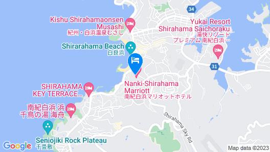 Nanki-Shirahama Marriott Hotel Map