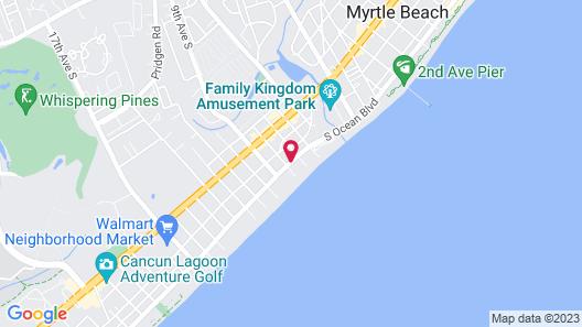 hotel BLUE Map