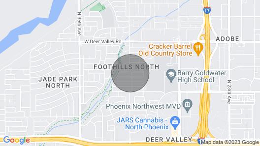 Backyard Sand Volleyball Court & Heated Pool Map