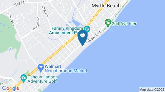 Westgate Myrtle Beach Oceanfront Resort Map