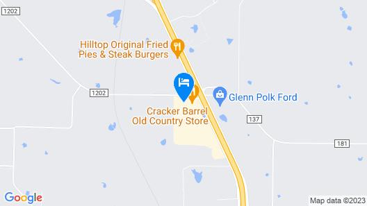 Hampton Inn & Suites Gainesville Map