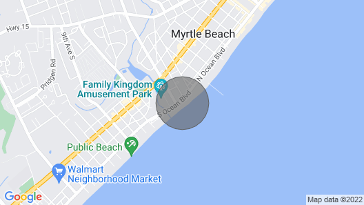 Sandy Beach Oceanfront Resort by Palmetto Vacations Map