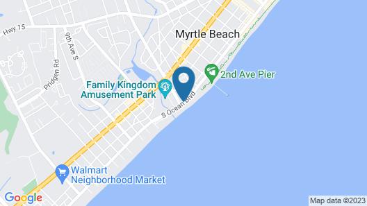 Sandy Beach Resort- Magnolia Tower Map