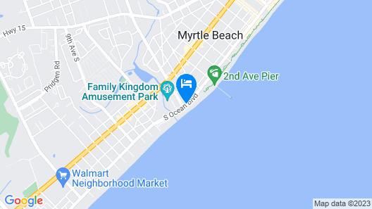Sandy Beach Resort- Palmetto Tower Map