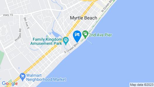 Oceans One Resort Map