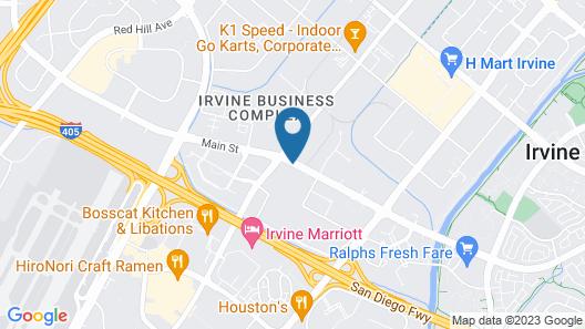 Hyatt House Irvine/John Wayne Airport Map