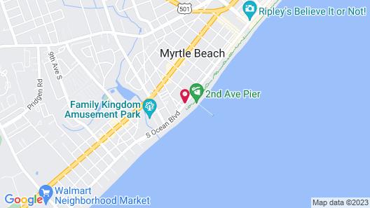 Bermuda Sands on the Boardwalk Map