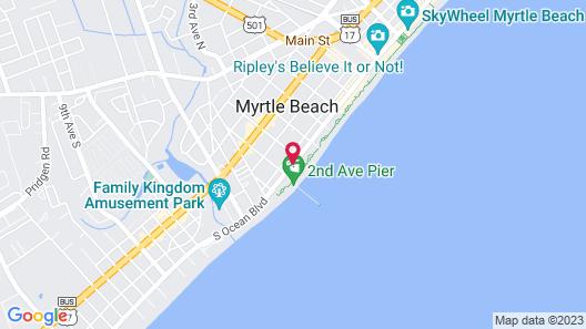Windsurfer Hotel Map