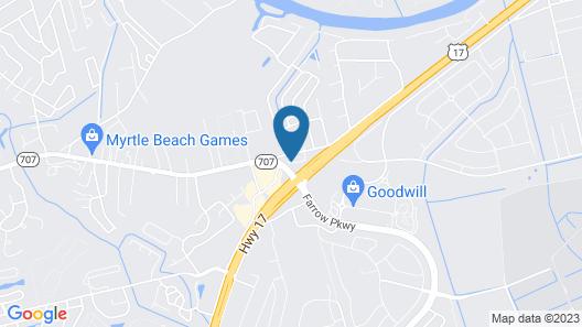 Super 8 by Wyndham Myrtle Beach/Market Common Area Map