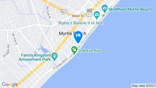 Sea Gypsy Inn Oceanfront Map