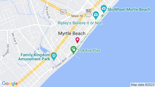 Wayfarer Motel Map
