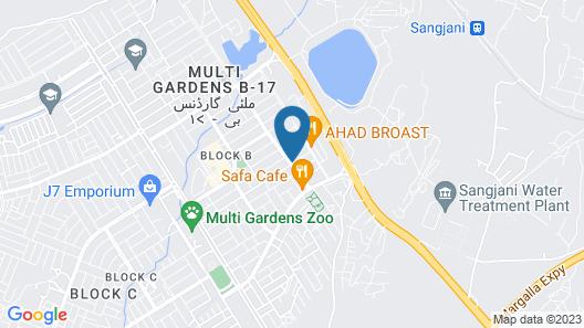 sherazi apartment Map