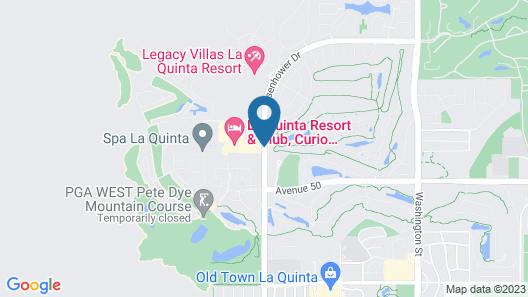 La Quinta Resort & Club, A Waldorf Astoria Resort Map