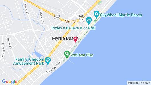 Bay View Resort Map