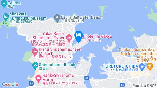 Hotel Kawakyu Map