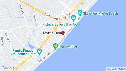 Happy Holiday Motel Map