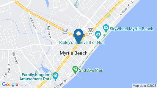 OYO Hotel Myrtle Beach Kings Hwy Map