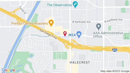 La Quinta Inn by Wyndham Costa Mesa / Newport Beach Map