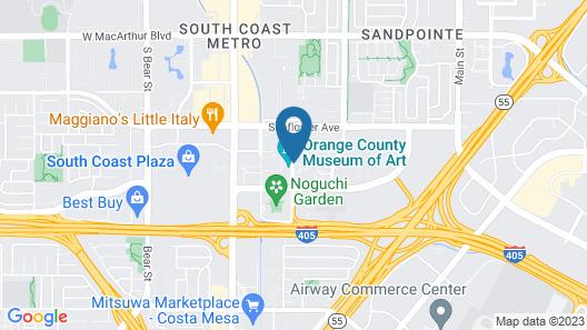 Avenue of the Arts Costa Mesa, a Tribute Portfolio Hotel Map