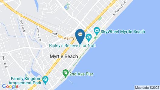 Midtown Inn Map