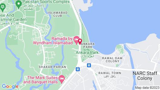 Ramada by Wyndham Islamabad Map