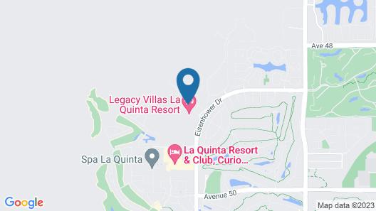 La Quinta Legacy Villas 3br  W/ Pool & Jacuzzi 3 Bedroom Condo Map
