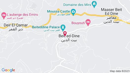 Beit Lebbos Map