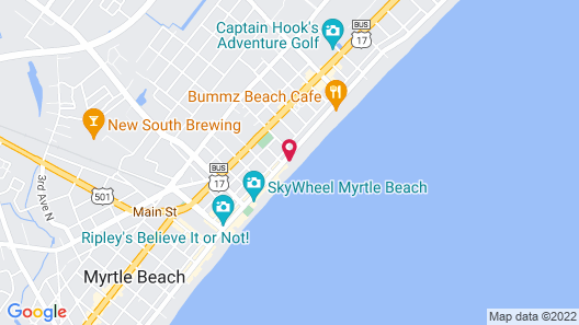 Ocean Enclave by Hilton Grand Vacations Map