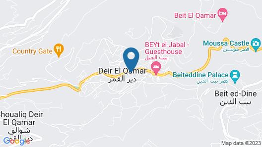 Deir al Oumara Map