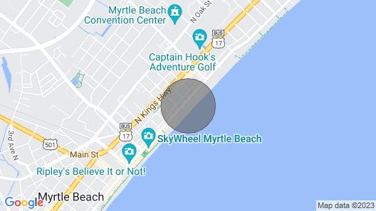 Atlantica 901- Oceanfront 2 Bedroom 2 Bathroom Condo Map