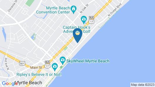 Carolina Tarheel Motel Map
