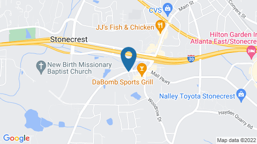 Microtel Inn & Suites by Wyndham Lithonia/Stone Mountain Map