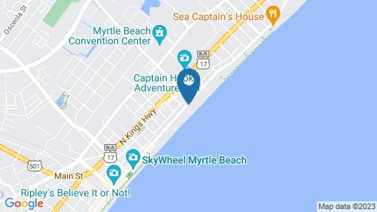 The Breakers Resort Map