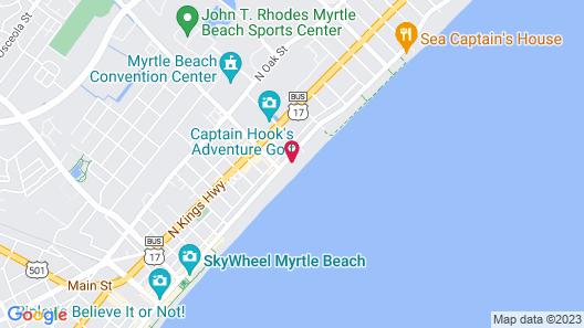 Schooner II Beach and Racquet Club Map