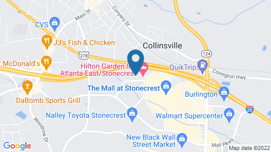 Holiday Inn Express Hotel & Suites Atlanta East - Lithonia, an IHG Hotel Map