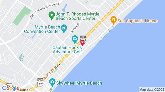 Sun Fun Motel Map