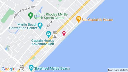 The Beverley Beach House Map