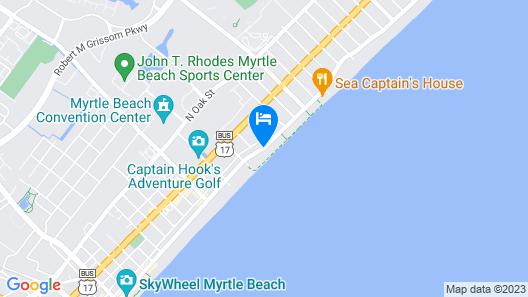 Carolinian Beach Resort by Vacasa Map