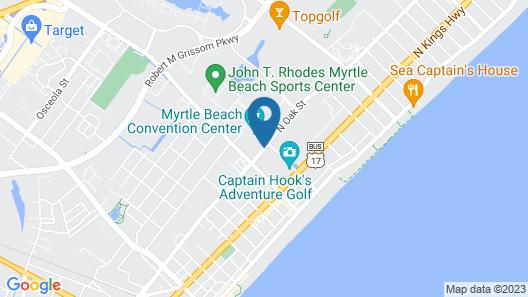 Sheraton Myrtle Beach Map