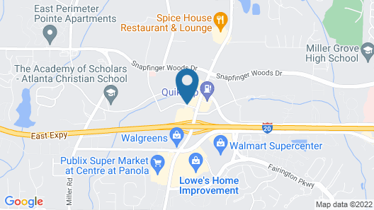 Super 8 by Wyndham Decatur/Lithonia/Atl Area Map