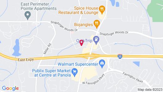 Quality Inn & Suites Decatur - Atlanta East Map