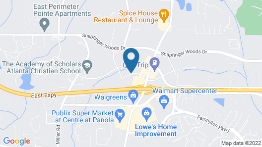 Quality Inn & Suites Decatur - Atlanta East Map