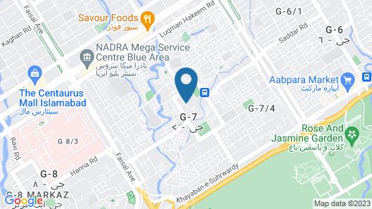 Diplomat Hotel Map